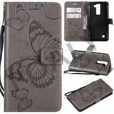 For LG K8 2016 Case <b>Luxury Wallet PU Leather</b> Back Cover Case ...