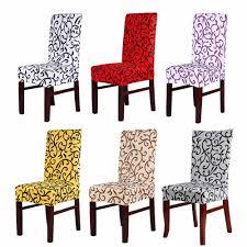 Hot Sale <b>6pcs</b>/<b>lot</b> Elastic PU Leather Home Chair Seat Cover ...