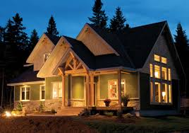 House Plans   Anchorage   Linwood Custom HomesThe Anchorage is a contemporary new home showcasing Western Red Cedar siding and shakes