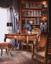 delightful liaisons eubanks combines 18th century france with a fresh updated traditional home century office