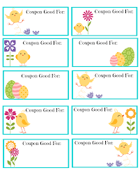 printable blank coupons laveyla com printable easter coupons the shady lane
