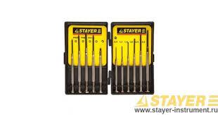 <b>Набор отверток STAYER 2560-H11_z01</b> для точных работ купить ...