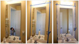 frame bathroom mirror digihome framed