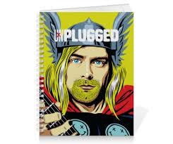 Тетрадь на пружине Kurt <b>Cobain</b> #1614986 от Jimmy Flash