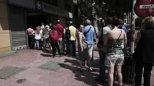 """Résultat de recherche d'images pour """"fermeture des banques grecques"""""""