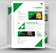 best flyer psd templates designmaz corporate flyer template