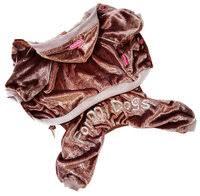 «<b>For My Dogs костюм</b> для собак, велюр, коричневый, для ...