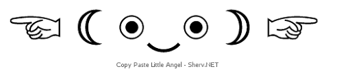 Copy paste text emoticons & symbols (•¿•) | ASCII/Unicode art for ... via Relatably.com