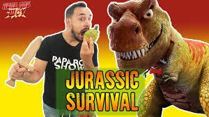 Папа Роб: обзор <b>игры Jurassic</b> Survival ! Часть 2 13+ - YouTube