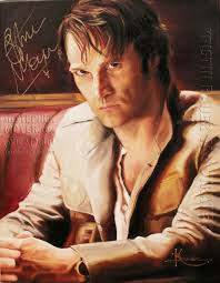 exclusive kristin bauer s painting of stephen moyer revealed facebook