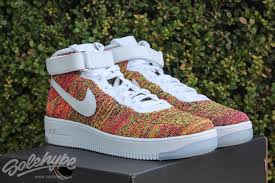 nike air force 1 high flyknit multicolor complex air force 1 flyknit
