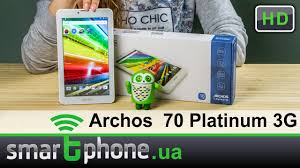 <b>Archos 70</b> Platinum 3G - Обзор. Смартфон и <b>планшет</b> до $100 ...