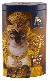 <b>Чай черный Richard The</b> royal cats подарочный набор — купить ...