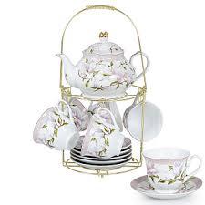 """<b>Набор чайный</b> 13 предметов Ф5-012К/13 """"Магнолия"""" на ..."""