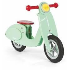 Скутер - <b>беговел</b> для детей , мятный, Janod (Страна бренда ...