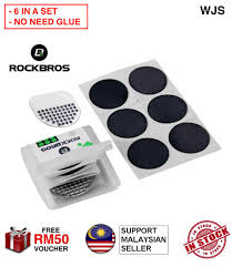 (NO GLUE NEEDED) WJS 6pcs 6 pcs <b>RockBros No Glue Chip</b> ...