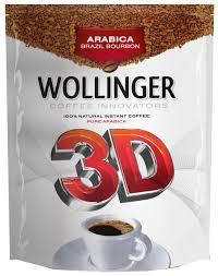 <b>Кофе растворимый WOLLINGER 3D</b> сублимированный, пакет ...