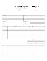 sample of invoice template printable template xianning it