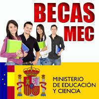 Resultado de imagen de becas mec 2016-17