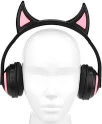 Накладные Bluetooth <b>наушники</b> с подсветкой <b>Qumo Party</b> Cat ...