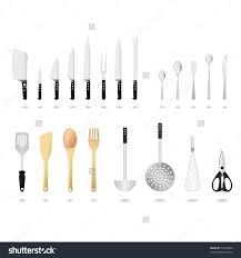 kitchen utensil: kitchen utensils set vector stock vector kitchen utensils set vector