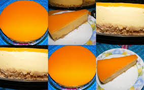 Image result for no bake mango cheesecake pic