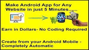 create android app for any website in just 5 minutes create android app for any website in just 5 minutes completely automatic