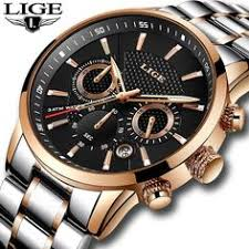 "ExtraShop - Buy ""<b>LIGE Watch Men</b> Business Waterproof Clock <b>Mens</b> ..."