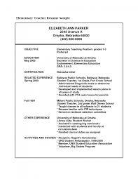 resume sample for kindergarten teacher cipanewsletter cover letter sample kindergarten teacher resume sample resume for