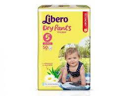 Подгузники-<b>трусики Libero Dry</b> Pants Maxi Plus (10-14 кг) 50 шт ...