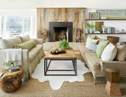 warm living room ideas:  gallery  character building living room