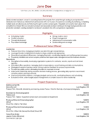 professional film assistant templates to showcase your talent resume templates film assistant