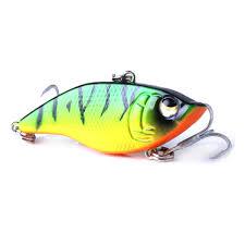 2019 Wholesale <b>NEW</b>! Lu Ya <b>Vib</b> Fishing <b>Lure 5cm</b> / 15g Plastic <b>Bait</b> ...