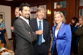 dr siddartha mukherjee and katie couric featured in the aspen <p> dr siddartha mukherjee elliot gerson of the aspen institute and