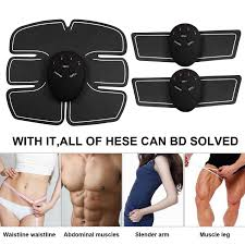 <b>Abs Trainer EMS</b> Muscle Stimulator Ab Toing Belt Fat Burners Waist ...