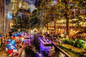 San Antonio River Walk is Draped With Christmas Lights and It