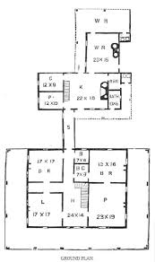 Southern Plantation    historic plantatio house planSouthern plantation home first floor plan