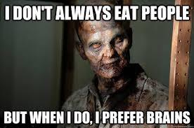 Gentleman Zombie memes | quickmeme via Relatably.com
