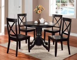 4 chair kitchen table:  chairs round dining table set  for small dining room