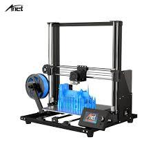 Anet A8 Plus Upgraded High precision <b>3D Printer Half DIY Semi</b> ...