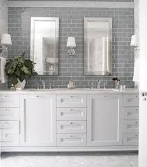 white ceramic washstand girls accessories freestanding heather garrett design bathrooms gray subway tile gray subway tiled ba