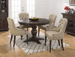 40 inch round pedestal dining table: jofran geneva hills round to oval table with pedestal base jofran my front runner you can fit  to  chairs at a  inch round table