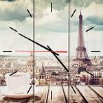 Купить <b>Настенные часы Дом Корлеоне</b> Парижское утро 30x30 см ...