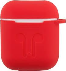 <b>Чехол RedLine для</b> зарядного кейса Airpods Red - цена на Чехол ...