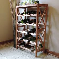 wrought iron wall wine rack decor ideas
