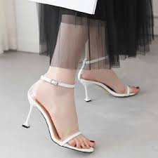 2019 new high heeled womens shoes lacquer fish mouth waterproof platform 5 5cm super 16cm sexy nightclub women sandals