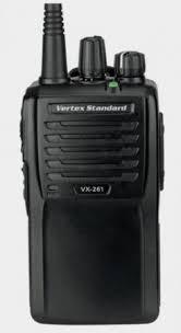 Профессиональная УКВ <b>радиостанция</b> Vertex Standard <b>VX</b>-<b>261</b>