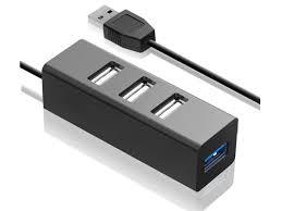 <b>Хаб USB CBR Universal</b> Alwise SY H013 22449 USB 4 ports Black ...