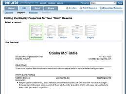 resume category  noneresume maker