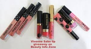 <b>Vivienne Sabo</b> lips and more lips with a giveaway you want to win ...